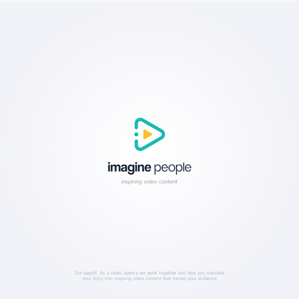 Button logo with the title 'imagine people'