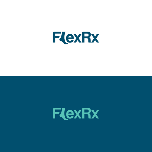 Foot logo with the title 'FlexRx'