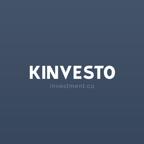 Formal logo with the title 'Kinvesto Investments Logo'