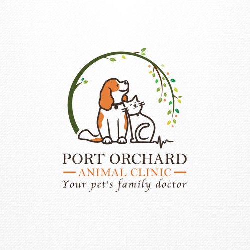 Veterinary logo with the title 'Pet Doctor'