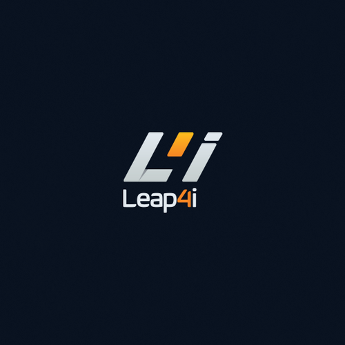 L design with the title 'Logo design for Leap4i'