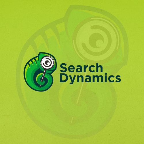 Chameleon brand with the title 'Search Dynamics or Search Dynamics LLC'