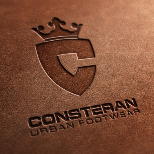 Shoe logo with the title 'Logo for urban shoe brand'