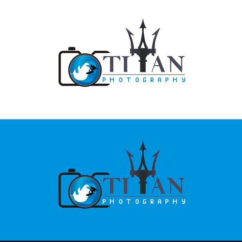 Titan design with the title 'Titan Photograpy Logo '