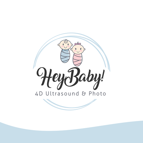 Baby design with the title 'logo'