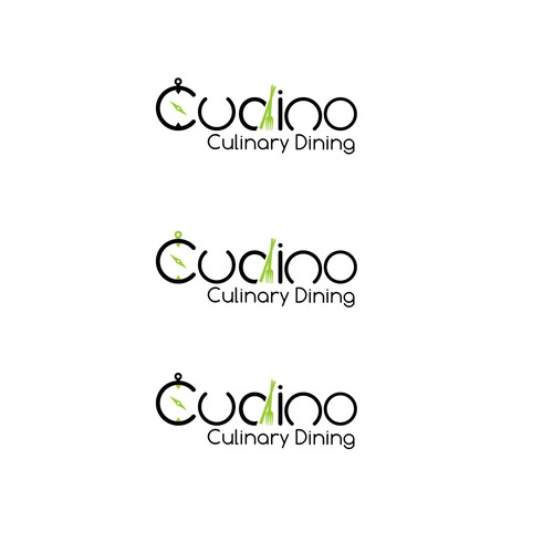 Dining logo with the title 'cudino lofo'