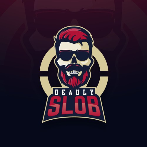 Streaming logo with the title 'Logo design for a twitch channel'