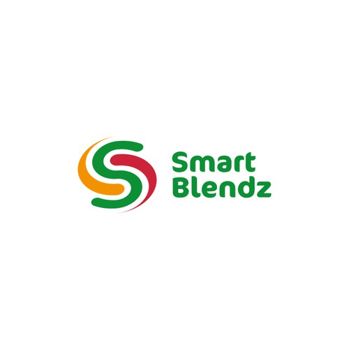 Blender logo with the title 'smart blendz'