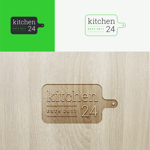 Chef design with the title 'Kitchen 24'