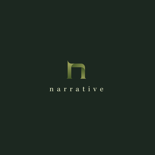 Art gallery logo with the title 'Narrative '