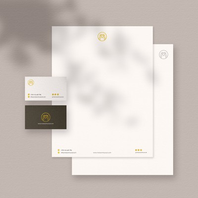 Letterhead & Business Card Concept
