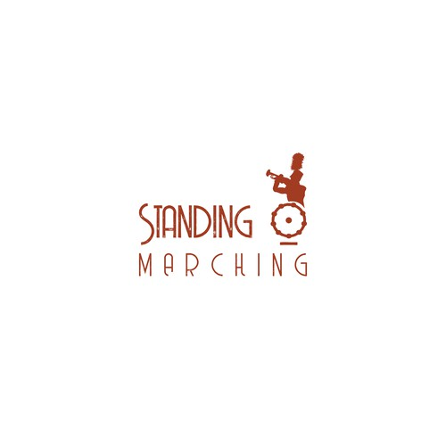 Marching band logo with the title 'This is a Marching Band logo'