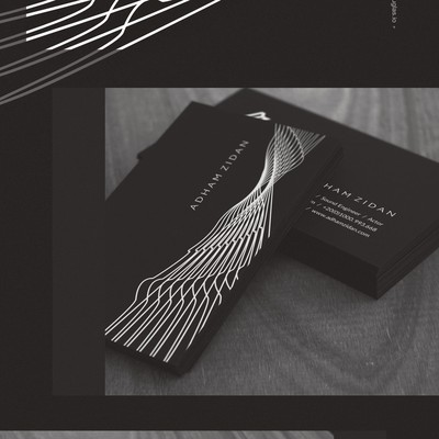 Business cards for Adham Zidan