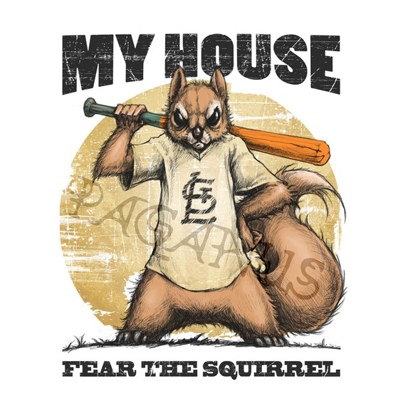 Fashion t-shirt with the title 'Rally Squirrel-2 WINNERS FOR SURE, up to 5 possible. Would like to close contest early 24hrs-48hrs'