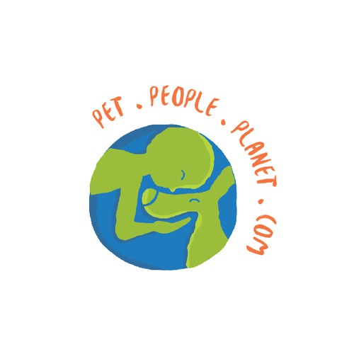 Organic design with the title 'Pet People Planet'