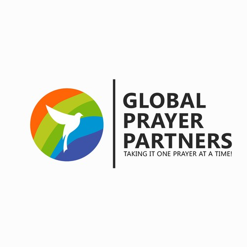 Pride design with the title 'Global Prayer Partners.com~Fulfilling Prayer Requests, Worldwide'