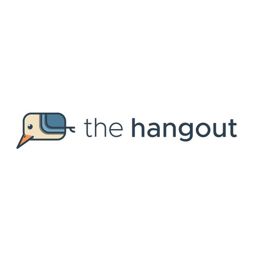 Social logo with the title 'The Hangout'