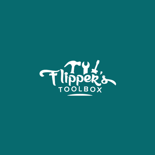 Toolbox design with the title 'Toolbox company logo'