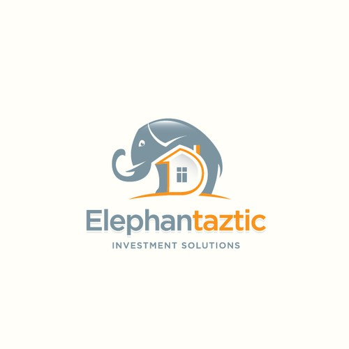 Elephant design with the title 'Elephantaztic Investment'