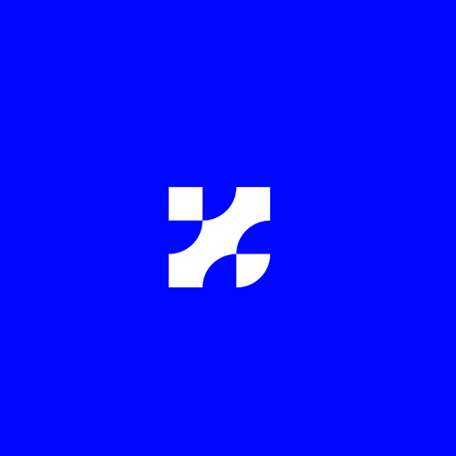 K logo with the title 'Abstract K'