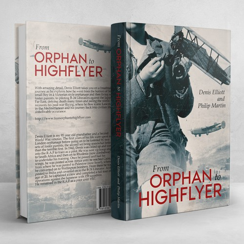 War design with the title 'From Orphan to Highflyer'