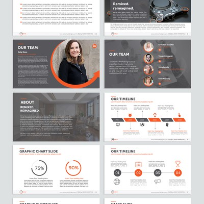 Powerpoint Template for Remix