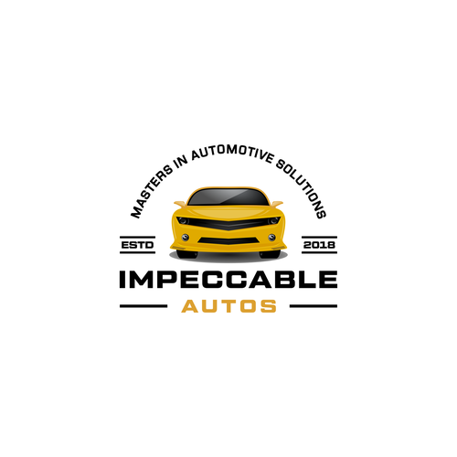 Bumblebee logo with the title 'Impeccable autos'