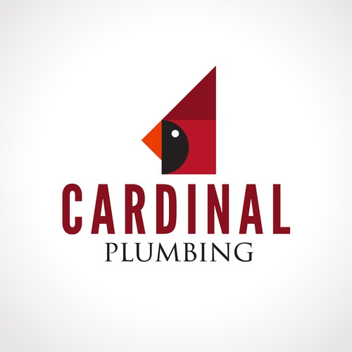 Cardinal design with the title 'Cardinal Concept Logo'