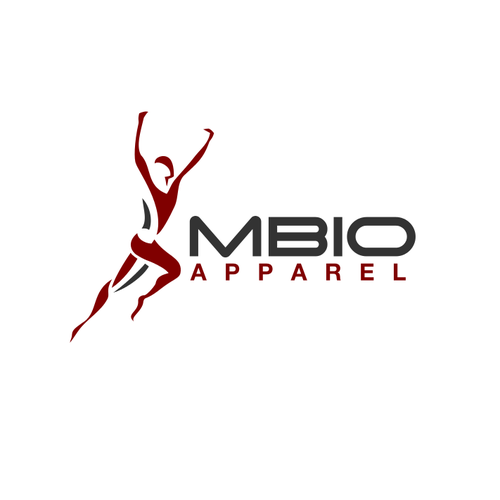 Victory design with the title 'MBIO apparel'