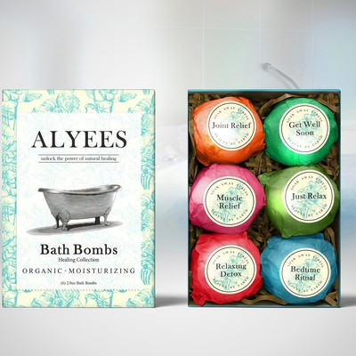 BATH BOMBS PACKAGING Alyees