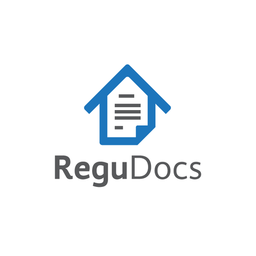 Text logo with the title 'ReguDocs'