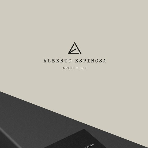 Architecture logo with the title 'Alberto Espinosa'