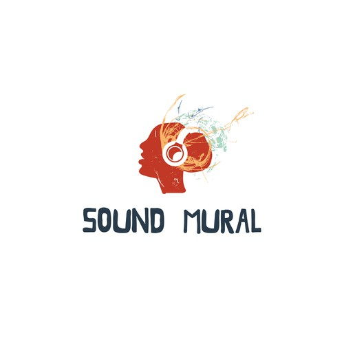 Street art logo with the title 'Logo for a sound studio'