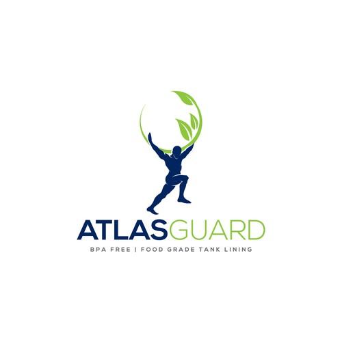 Atlas design with the title 'AtlasGuard'