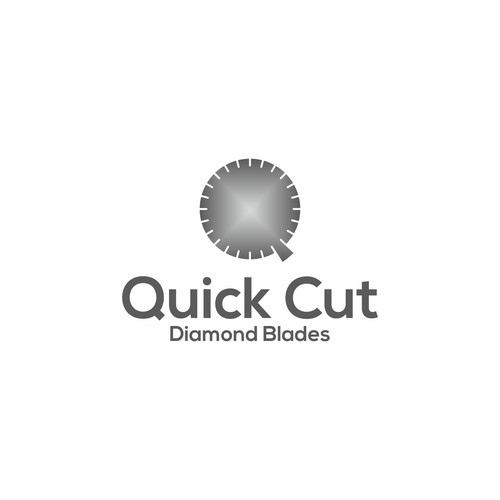 Split logo with the title 'Quick Cut '