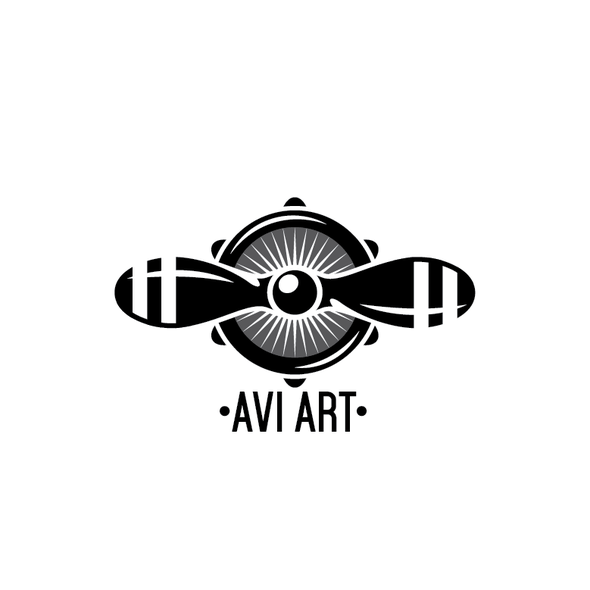 Aviator logo with the title 'AviArt'