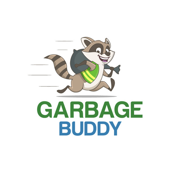 Bin logo with the title 'Garbage Buddy'