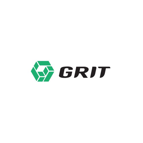 Construction design with the title 'GRIT'