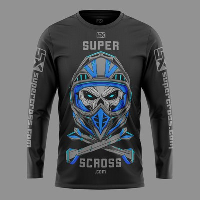 Motocross T-shirt design