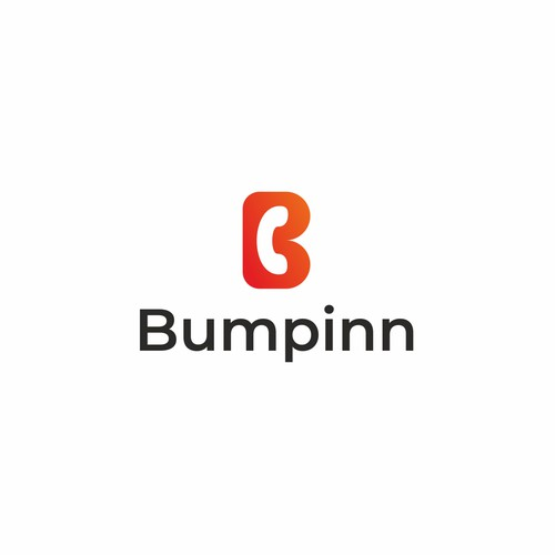 Call design with the title 'Bumpinn logo'