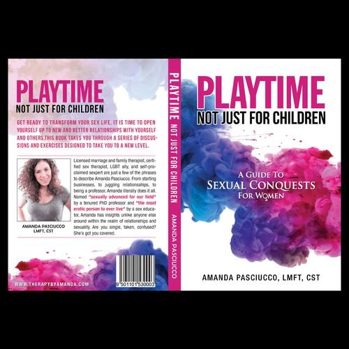 Cool book cover with the title 'PLAYTIME'