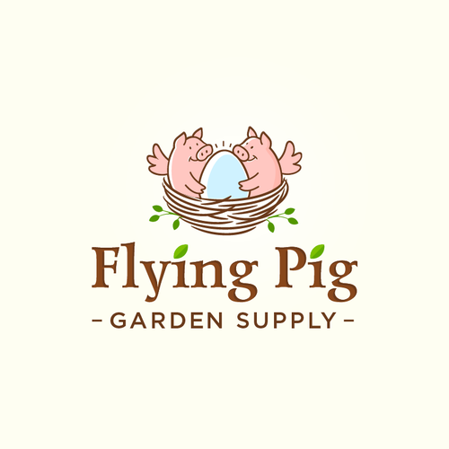 Horticulture logo with the title 'Flying Pig =)'