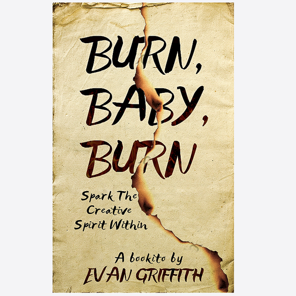 Fire book cover with the title 'Burn, Baby, Burn'