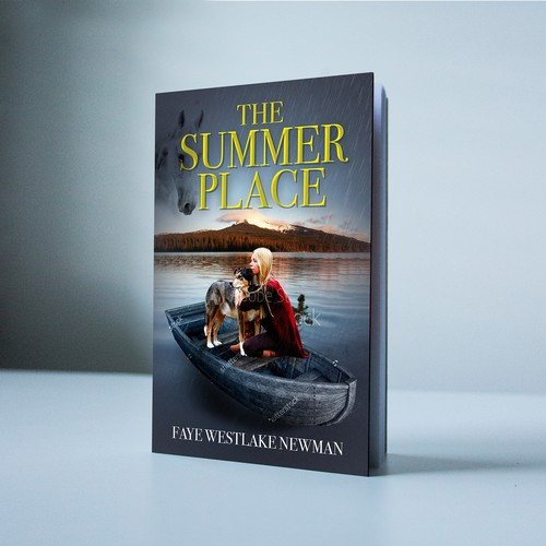 Summer book cover with the title 'The Summer place'