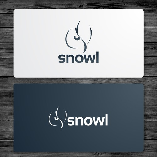 Brazilian design with the title 'Logo Design for Snowl'