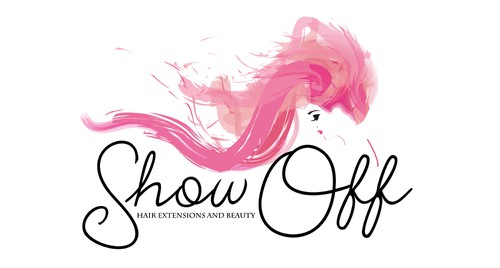 Lady design with the title 'Logo design for Show Off'