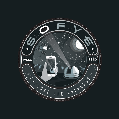Science design with the title 'SOFYE - Southern Observatory for Young Explorers'