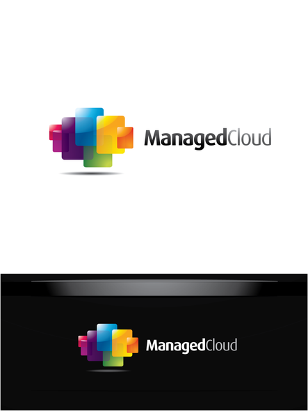 Systems logo with the title 'Help Managed Cloud with a new logo'
