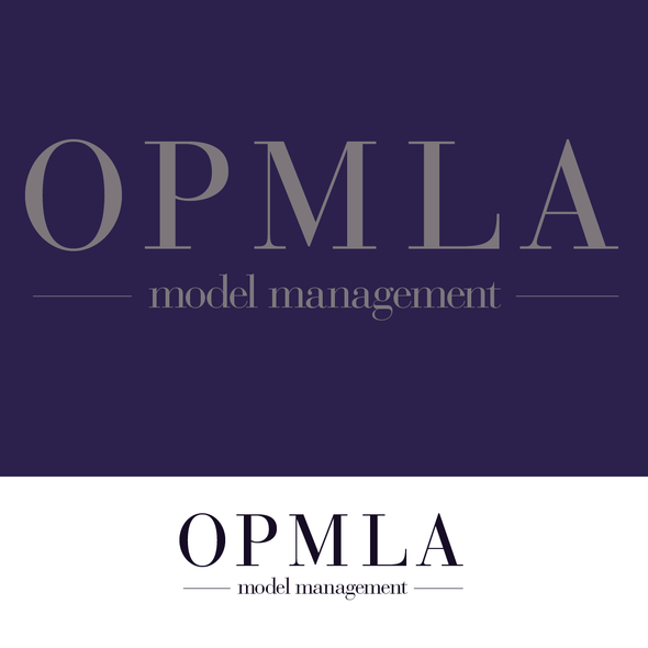 Modeling logo with the title 'OPMLA (model management)'