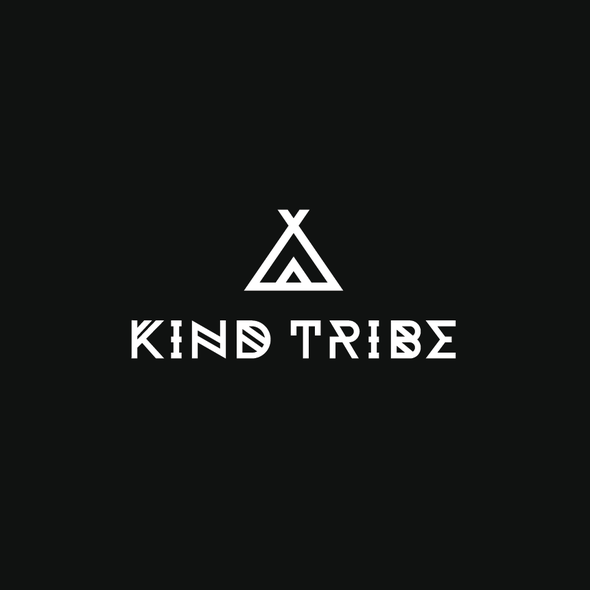 Tribal design with the title 'Tribe Logo'